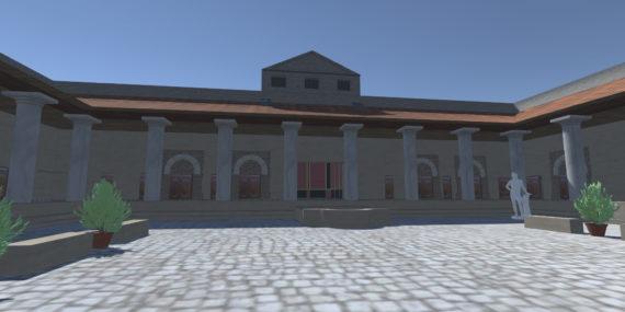 Screenshot Dionysus House - Courtyard to Room L